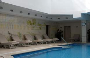 Outdoor and Indoor Heated Swimming Pool